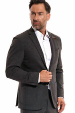 Baldessarini - Sakko grau Herren Slim fit Blazer Jackett Business