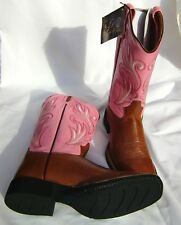 6ebea52b4a6 Old West Cowboy Boots 18109 Leather Western Boots Western Cowboy Boots Size  40
