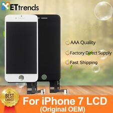 2 pz/lotto Originale Display LCD OEM per iPhone 7 Schermo LCD Touch Digitizer