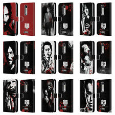 OFFICIAL AMC THE WALKING DEAD GORE LEATHER BOOK CASE FOR MOTOROLA PHONES 2