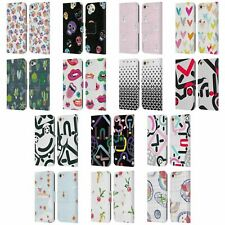 OFFICIAL TURNOWSKY PATTERNS 2 LEATHER BOOK WALLET CASE FOR APPLE iPOD TOUCH MP3