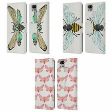 CAT COQUILLETTE INSECTS 2 LEATHER BOOK WALLET CASE COVER FOR ASUS ZENFONE PHONES