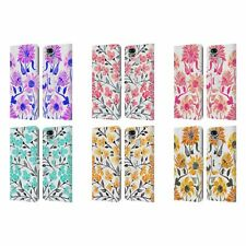 OFFICIAL CAT COQUILLETTE FLORALS 2 LEATHER BOOK CASE FOR ASUS ZENFONE PHONES