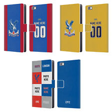 CUSTOMISED CRYSTAL PALACE FC 2016/17 LEATHER BOOK CASE FOR HUAWEI PHONES 2