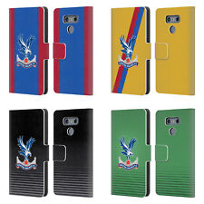 OFFICIAL CRYSTAL PALACE FC 2016/17 KIT LEATHER BOOK WALLET CASE FOR LG PHONES 1