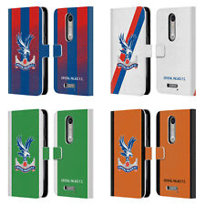 CRYSTAL PALACE FC 2018/19 PLAYERS KIT LEATHER BOOK CASE FOR MOTOROLA PHONES 2