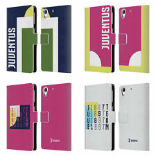 JUVENTUS FC 2018/19 COLOUR BLOCKING LEATHER BOOK WALLET CASE FOR HTC PHONES 2