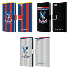 OFFICIAL CRYSTAL PALACE FC 2017/18 KIT LEATHER BOOK CASE FOR HUAWEI PHONES 2
