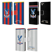 OFFICIAL CRYSTAL PALACE FC 2017/18 KIT LEATHER BOOK CASE FOR LENOVO PHONES