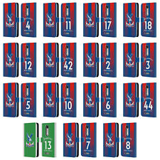 CRYSTAL PALACE FC 2018/19 PLAYERS HOME KIT 1 LEATHER BOOK CASE MOTOROLA PHONE 2