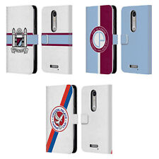 OFFICIAL CRYSTAL PALACE FC 2016/17 BADGE LEATHER BOOK CASE FOR MOTOROLA PHONES 2