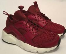 Nike Air Huarache Run Ultra Se Burgundy Trainers- Brand New - Men's Sizes