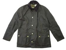 BARBOUR ASHBY WAXED JACKET in OLIVE