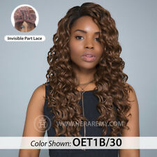 100% HUMAN HAIR BLEND LABELLA FRONT LACE MEAGAN WIG - LACE FRONT WIG