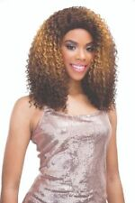 100% HUMAN HAIR BLEND BRAZILIAN SCENT LACE FRONT WIG - JANET COLLECTION HAILEY