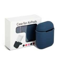Silicone Cover Case Waterproof Strap Holder Protector for Apple Airpods Air Pod