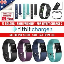 Sports Fitbit Charge 2 Silicone Band Replacement Wristband Watch Strap Bracelet