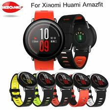 22mm Replacement Silicone Sports Strap Band For xiaomi huami amazfit bip pace li