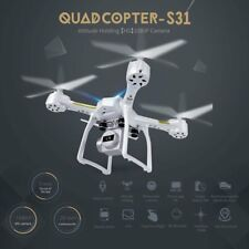 Quadcopter S31 Headless Mode Mini RC Helicopter Drone 2.4Ghz 6-Axis Gyro 1080P b