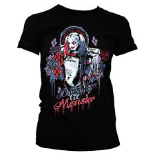 SUICIDE SQUAD HARLEY QUINN t-shirt donna girlie-shirt officially licensed