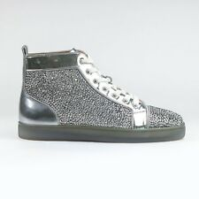 a65c69e20bb 100% Authentic Christian Louboutin Louis Strass Flat Silver Patent RRP £2100