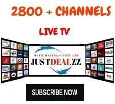 IPTV SUBSCRIPTION 1-12 Months - 2800+ LiveTV + VOD + PPV  / IPTV SERVICE