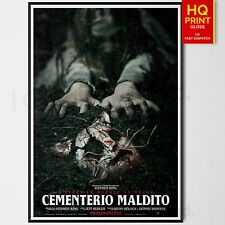 Pet Sematary Horror/Thriller 2019 Movie Poster Stephen King #5 | A4 A3 A2 A1 |