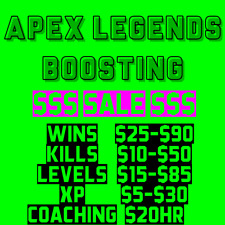 Apex Legends Boosting (PC) Trusted Seller