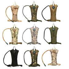 3L Water Bladder Military Bag Hiking Camping Hydration Backpack Camelbak Pack