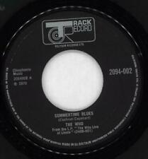 """Summertime Blues - Wide Who UK 7"""" vinyl single record 2094-002 TRACK 1970"""