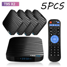 2/5PCS Android 8.1 Smart TV BOX Quad Core 4/32GB DDR4 USB3.0 WiFi 4K*2K UHD H7R8