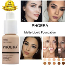 Makeup Soft Matte Full Coverage Cream Flawless Coverage Liquid Foundation PHOERA