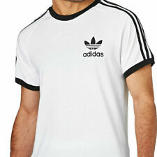 Men's Adidas CALIFORNIA Tees ESS 3S LINEAR Crew Neck Short Sleeves T-Shirt
