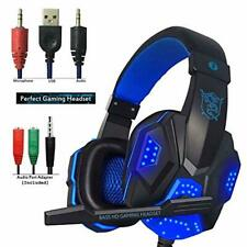 Gaming Headset for PS4 Xbox One hyfanda Over Ear Headphones With Mic Stereo Bass