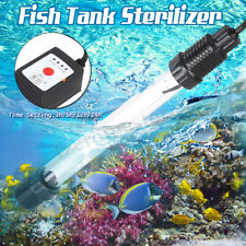 7-13W Submersible Fish Tank Pond UV Lamp Aquarium Light Sterilizer Water Clean