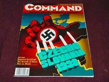 Command 1993 #24 - Czechoslovakia '38 Munich Conference (UNPUNCHED) - Complete