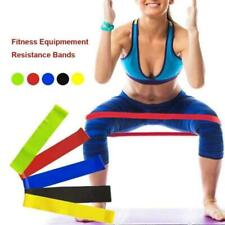Resistance Elastic Training Rubber Band Stretch Exercise Fitness Fit Yoga Gym