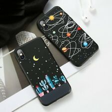 Phone Case For iPhone 7 8 6s X Xr Xs Max 8 Plus Moon Astronaut Space Star Cover