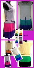 LOUNGE AROUND ALL SIZES MATTY M DRAW-STRING DRESS LOTS OF COLOURS  BNWT