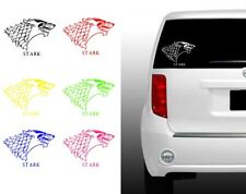 Game Of Thrones Stark wolf Vinyl Decal   got game of thrones snow dragon iphone