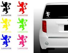 Game Of Thrones Lannister Vinyl Decal   got game of thrones snow dragon iphone