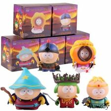 """SOUTH PARK: THE STICK OF TRUTH 2"""" FIGURES ~ KENNY STAN BUTTERS KYLE CARTMAN NIB"""