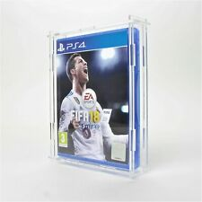 Clear Acrylic PlayStation Game Display Cases - PS1 - PS2 - PS3 - PS4 - Sony