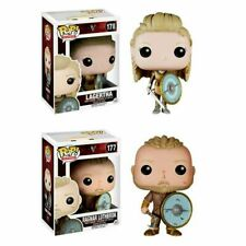 Funko pop Vikings 178# LAGERTHA 177# RAGNAR LOTHBROK Figure Decoration 🔥NEW🔥