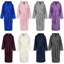 TOWELLING BATH ROBE MEN/WOMEN EGYPTIAN COTTON TERRY HOODED TOWEL DRESSING GOWN