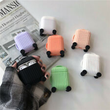 Cute Suitcase Design Silicone Shockproof Case Cover for AirPods Charging Skin