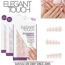 Health & Beauty X4 Elegant Touch Express Stick On Nails