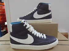 Nike Blazer Mid Leather Black Natural Womens 525366 011