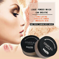 new Finish Powder Face Loose Powder Translucent Smooth Setting Foundation Makeup