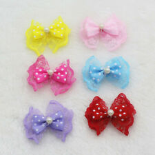 85/120P Mini Satin Ribbon Flowers Bows Gift Craft Wedding Decoration U pick DIY